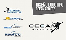 Diseño Logotipo Ocean Addicts
